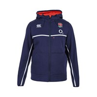 Canterbury Of New Zealand England Training Full Zip Hoody Navy