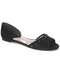 Carlos By Carlos Santana Paige Two Piece Flats Women's Shoes Black