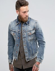 Nudie Jeans Billy Denim Jacket Shimmering Indigo Blue