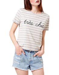 Miss Selfridge Tres Chic Tee Multi