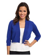 Rsvp Bre Shrug Cobalt Cobalt Academy Women's Sweater Blue