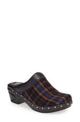 Sofft 'Bellrose' Leather Mule Women Blue Navy