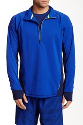 Brooks Drift 1 2 Zip Jacket Blue