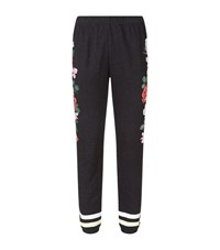 Wildfox Couture Rose Race Knox Trackpants Female Black