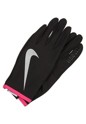 Nike Performance Rival Gloves Black Vivid Pink