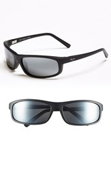 Men's Maui Jim 'Legacy Polarizedplus2' 61Mm Polarized Sunglasses Matte Black Neutral Grey