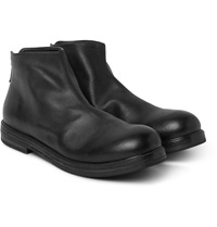 Marsell Grained Leather Boots