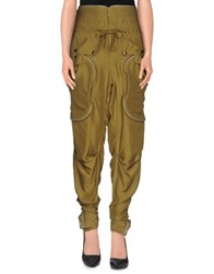 Faith Connexion Trousers Casual Trousers Women Military Green