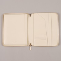 Comme Des Garcons Wallet Classic Leather Line For Ipad Offwhit