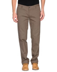 Gold Case By Rocco Fraioli Casual Pants Dark Brown
