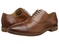 Cole Haan Cambridge Cap Oxford British Tan Men's Lace Up Cap Toe Shoes