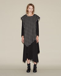 Nocturne 22 Polka Dot Dress Black