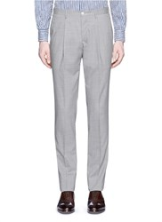 Boglioli Virgin Wool Pants Grey