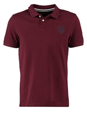Pier One Polo Shirt Bordeaux Red