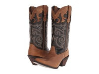 Durango Crush 12 Underlay W Tooling Distressed Brown Cowboy Boots