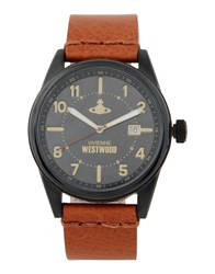 Vivienne Westwood Timepieces Wrist Watches Men Tan