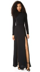 Flynn Skye Cedar Maxi Dress Black