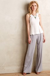 Cartonnier Verso Wide Leg Trousers Light Grey