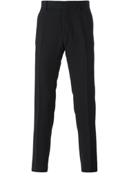 Les Hommes Tailored Trousers Black