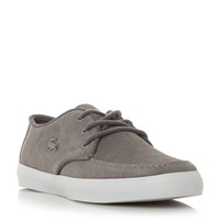 Lacoste Sevrin Apron Stitching Lace Up Boot Grey