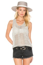 Feel The Piece Karen O Tank Light Gray