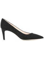 Giorgio Armani Pointed Toe Pumps Black