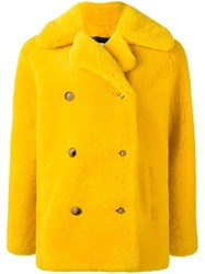 Roseanna 'Duncan' Coat Yellow And Orange