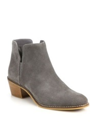 Cole Haan Abbot Suede Booties Grey
