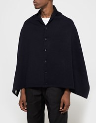 Engineered Garments Button Shawl Dark Navy