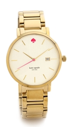 Kate Spade Gramercy Grand Bracelet Watch Gold