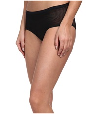 Ongossamer Mesh Clean Edge Modern Brief 020850 Black Women's Underwear