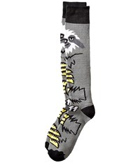 Neff Sloth Snow Socks Grey 1 Men's Thigh High Socks Shoes Gray