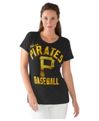 G3 Sports Women's Pittsburgh Pirates Major League T Shirt Black