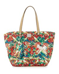 Nicole Miller City Life Printed Tote Bag Harvest Moon