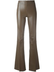 By Malene Birger 'Rhise' Flared Trousers Brown