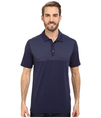 The North Face Short Sleeve Alpine Start Polo Cosmic Blue Men's Clothing