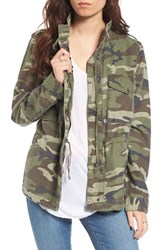 Thread And Supply Women's Outsider Camo Print Jacket