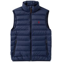 Polo Ralph Lauren Lightweight Down Gilet Blue