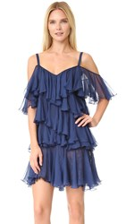 Philosophy Di Lorenzo Serafini Ruffle Dress Blue