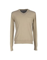 Dekker Knitwear Jumpers Men Sand