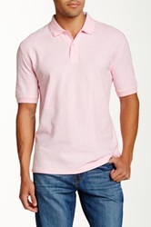 Faconnable Solid Polo Pink