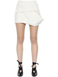 J.W.Anderson Faux Suede Draped Mini Skirt