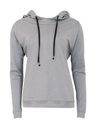 Green Lamb Soft Dri Lounge Hoodie Grey