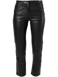 Burberry Brit Cropped Trousers Black