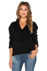 Inhabit Cashmere Luxe Cate Sweater Black