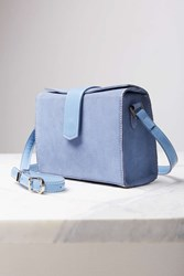 Cooperative Tab Box Crossbody Bag Blue