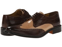 Giorgio Brutini Caster Brown Tan Men's Lace Up Wing Tip Shoes