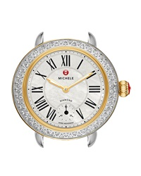 12Mm Serein Diamond Two Tone Watch Head Michele