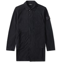 Stone Island Shadow Project Jersey R Light Trench Coat Black