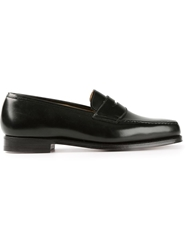 Crockett Jones Crockett And Jones 'Boston' Penny Loafers Black